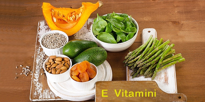 E vitamini eksikliği ve tedavisi nelerdir?